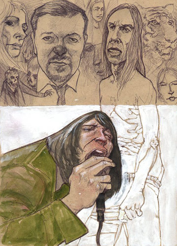 Andy P's Sketch Book ((Updated Oct 25)) The Richmond Zombie Walk